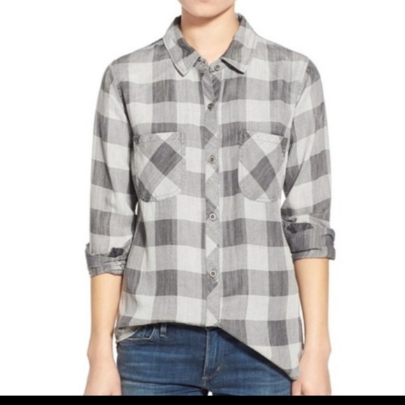 Rails Womens Midnight Carter Buffalo Check Plaid B